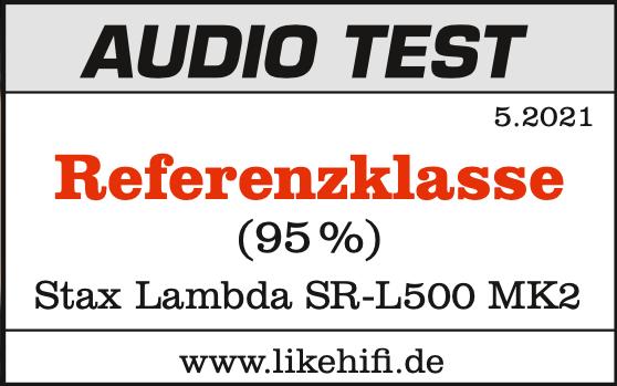 STAXSRL500MK2_AudioTest_Signet