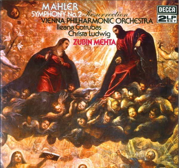 Gustav Mahler – Symphony No.2 / Zubin Mehta / WPO
